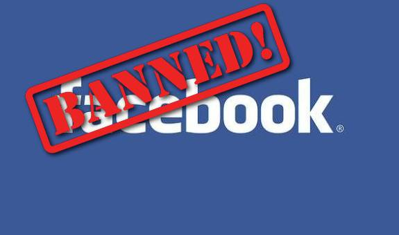 Image result for pics facebook banned